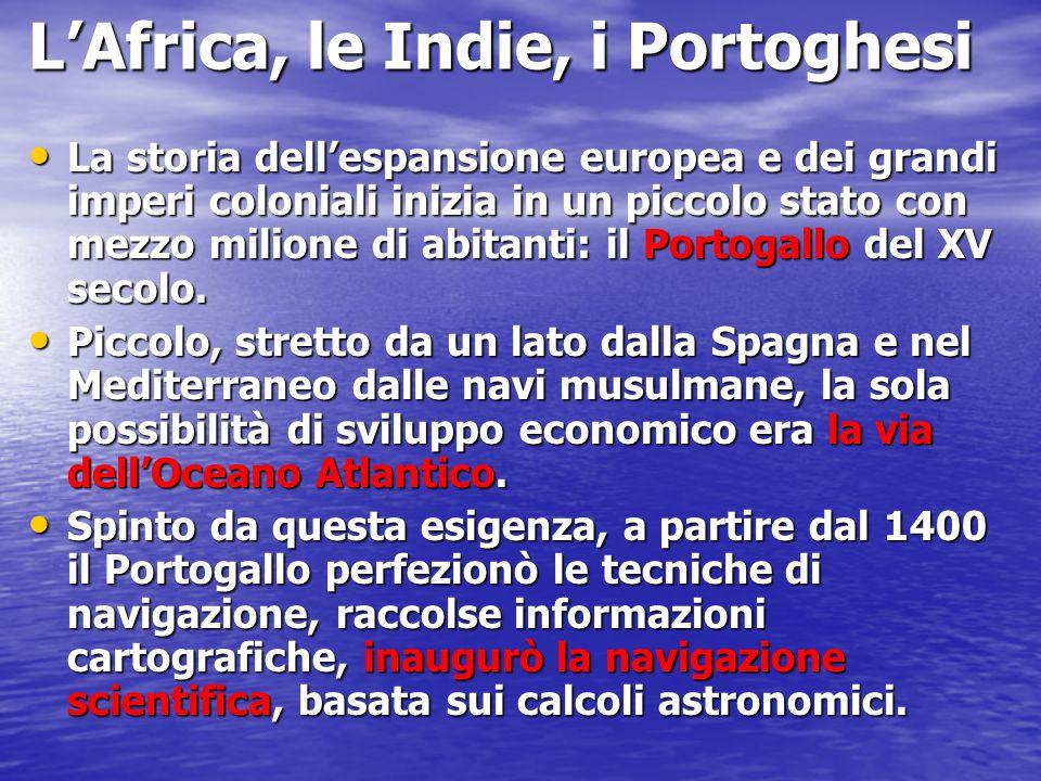 L'Africa, le Indie, i Portoghesi