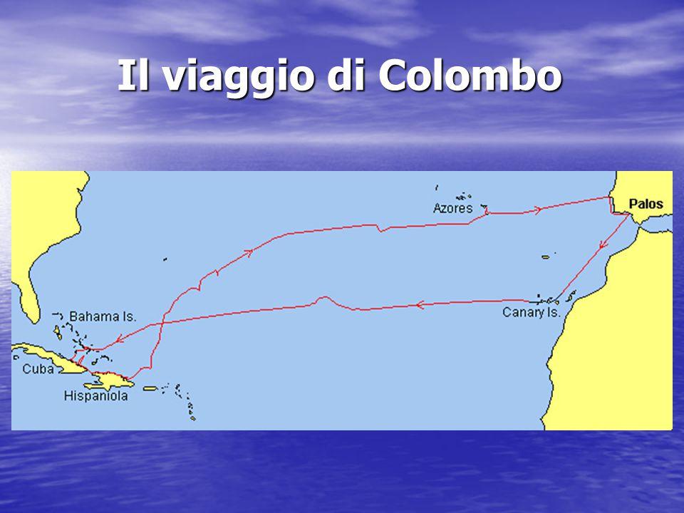 Il viaggio di Colombo