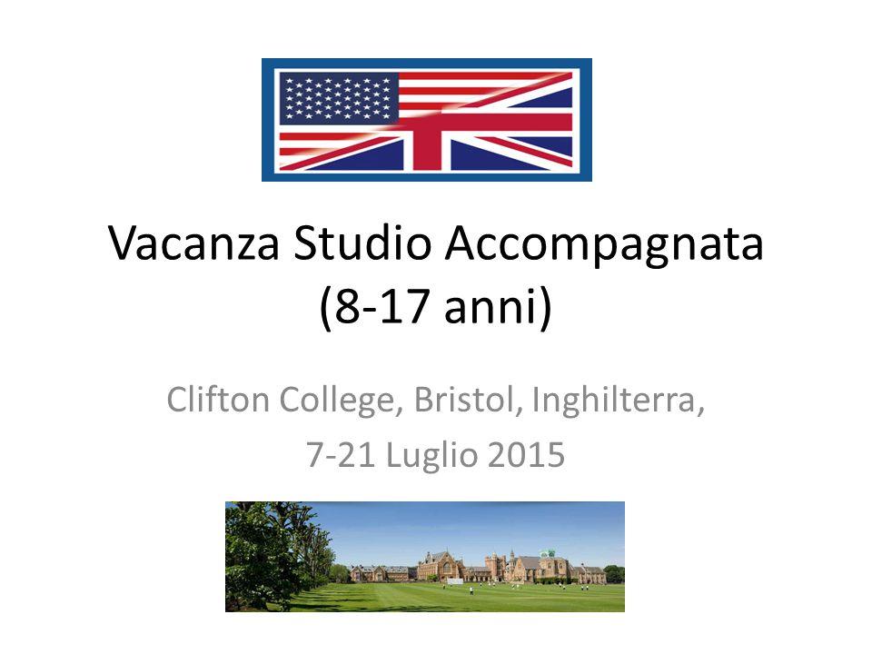 Vacanza Studio Accompagnata (8-17 anni)