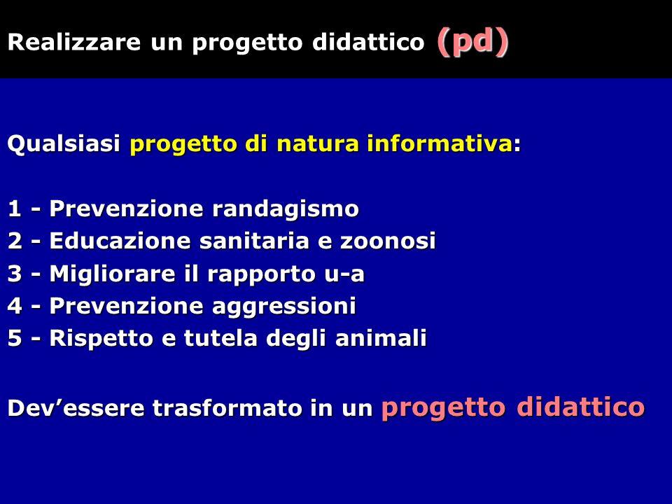 Realizzare un progetto didattico (pd)