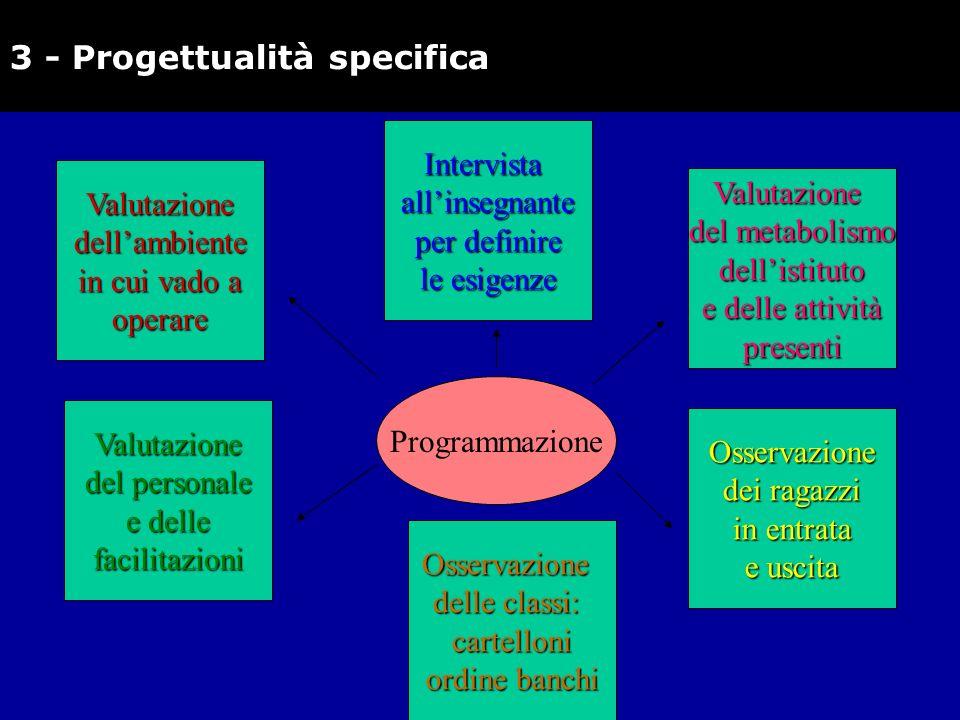 3 - Progettualità specifica