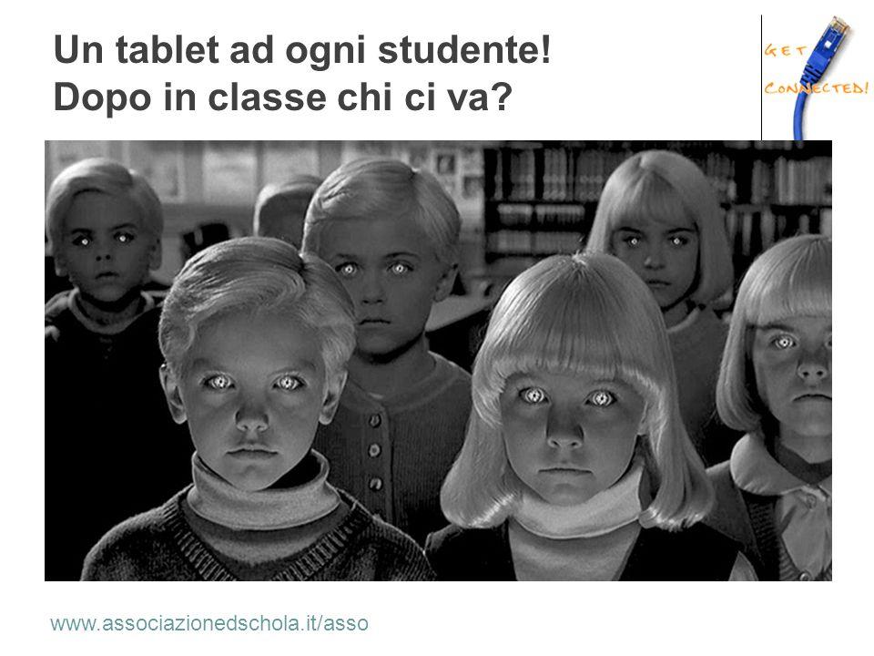 Un tablet ad ogni studente! Dopo in classe chi ci va