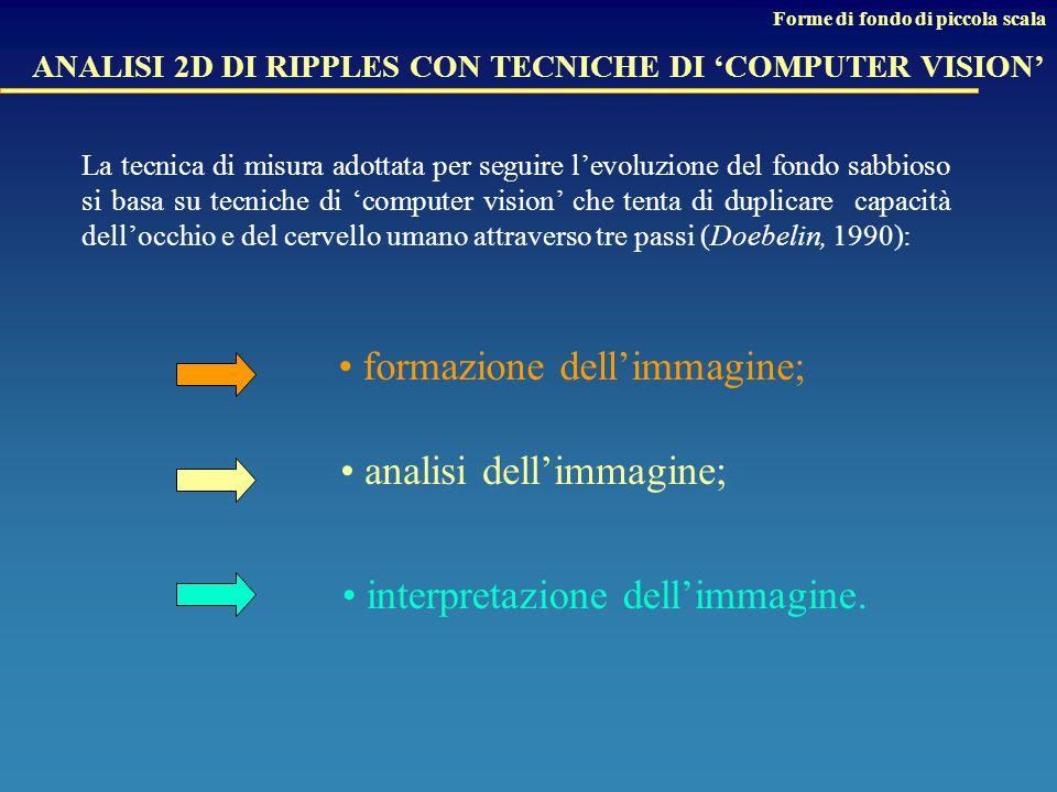 ANALISI 2D DI RIPPLES CON TECNICHE DI 'COMPUTER VISION'