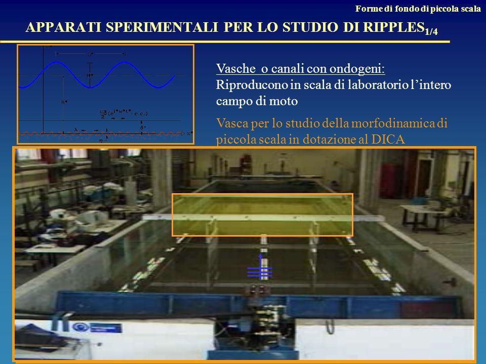 APPARATI SPERIMENTALI PER LO STUDIO DI RIPPLES1/4