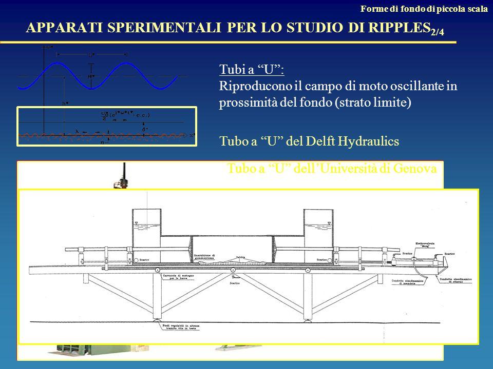 APPARATI SPERIMENTALI PER LO STUDIO DI RIPPLES2/4