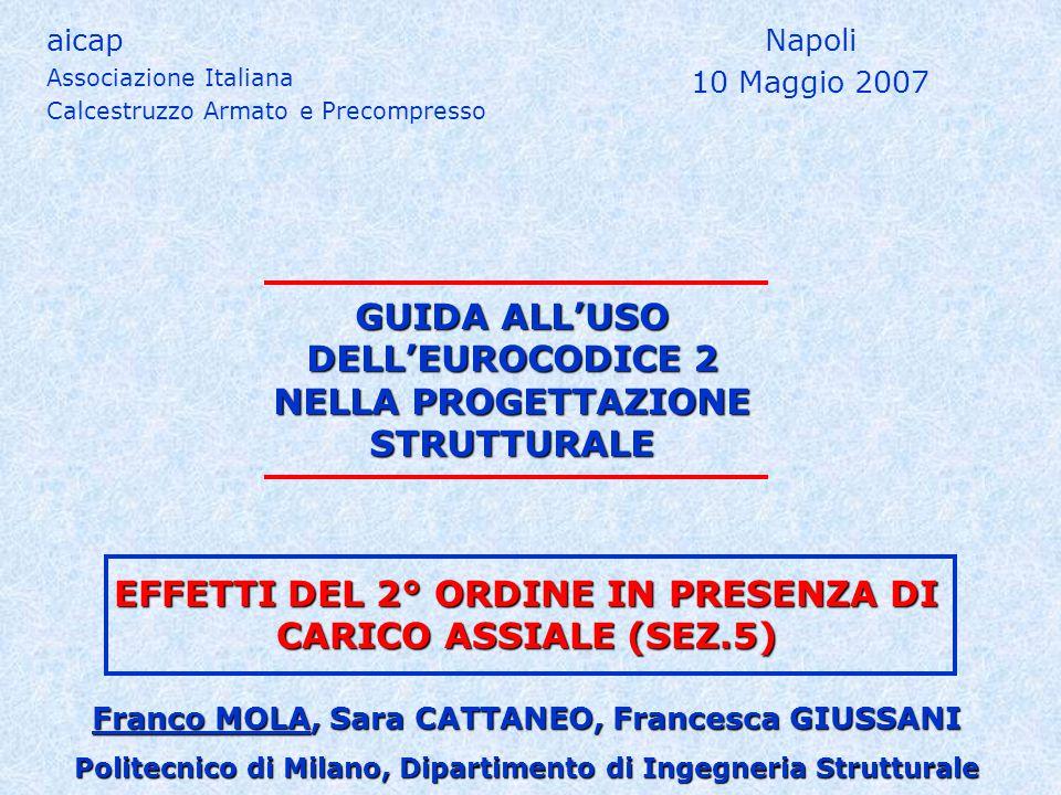 GUIDA ALL'USO DELL'EUROCODICE 2 NELLA PROGETTAZIONE STRUTTURALE