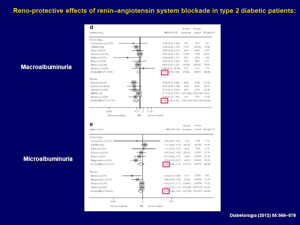 Reno-protective effects of renin–angiotensin system blockade in type 2 diabetic patients: