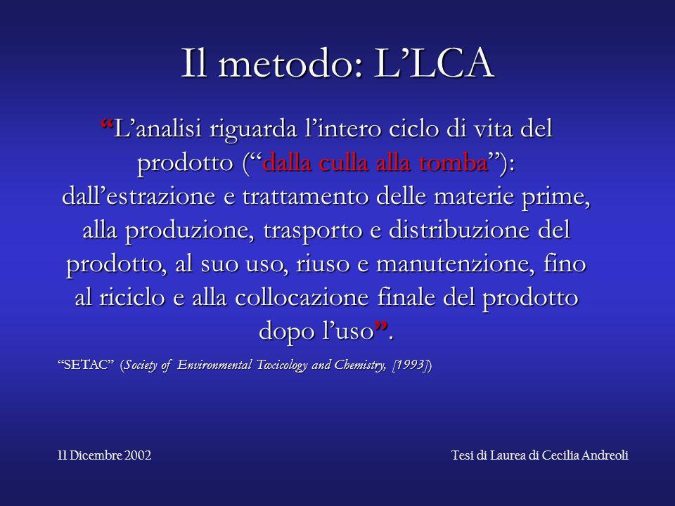 Tesi di Laurea di Cecilia Andreoli