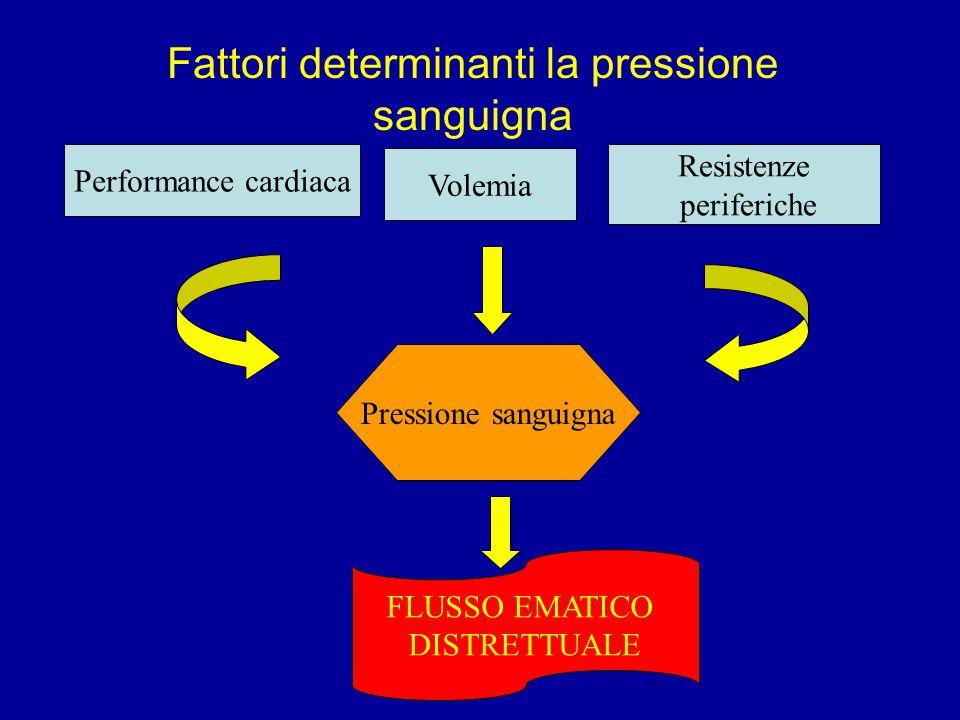 Fattori determinanti la pressione sanguigna