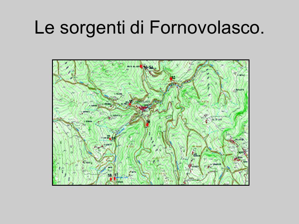 Le sorgenti di Fornovolasco.