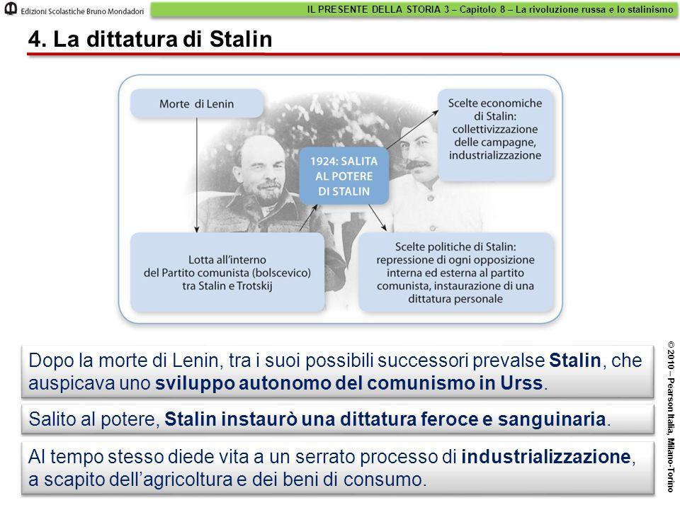 IL PRESENTE DELLA STORIA 3 – Capitolo 8 – La rivoluzione russa e lo stalinismo