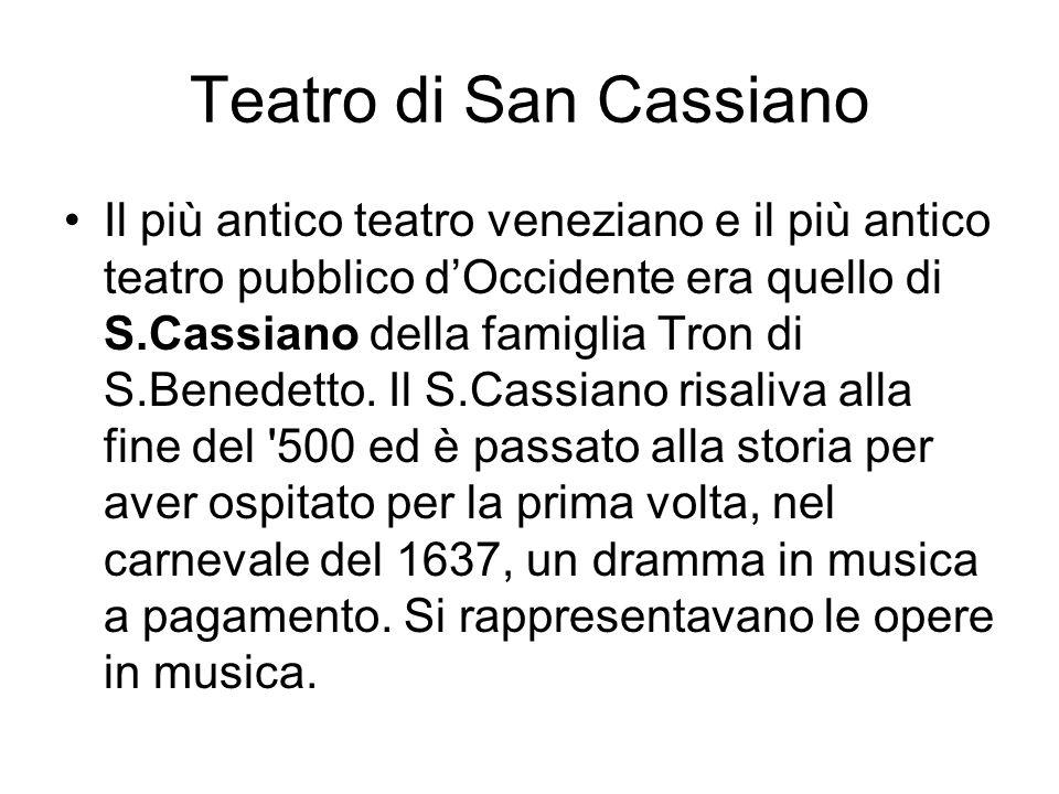 Teatro di San Cassiano