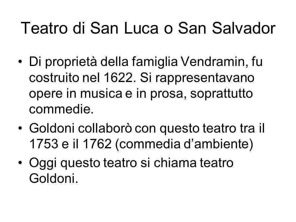 Teatro di San Luca o San Salvador