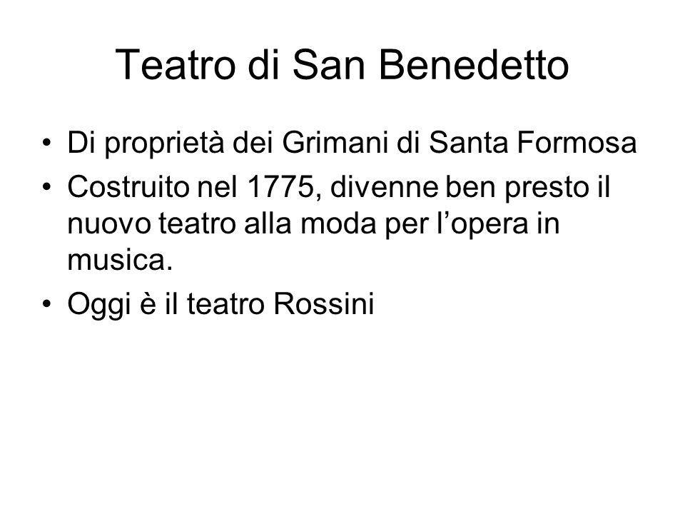 Teatro di San Benedetto