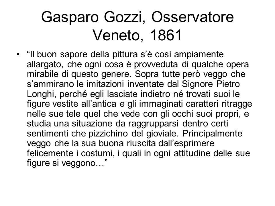 Gasparo Gozzi, Osservatore Veneto, 1861