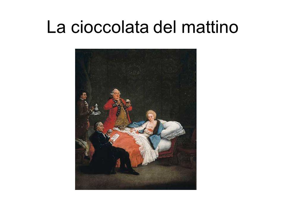 La cioccolata del mattino