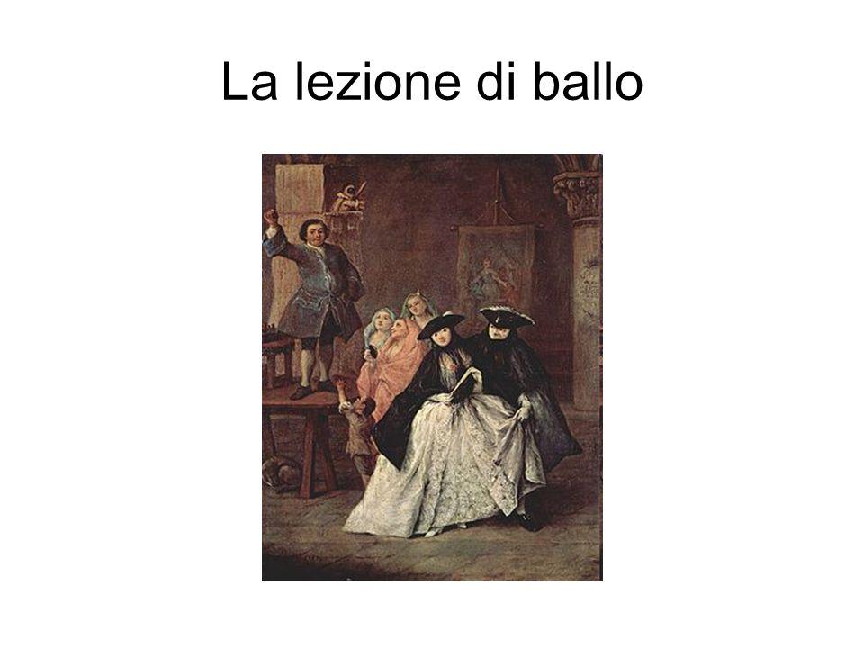 La lezione di ballo