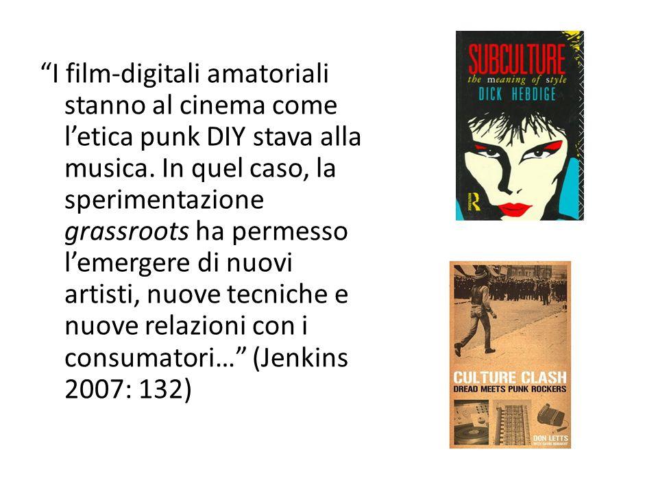 I film-digitali amatoriali stanno al cinema come l'etica punk DIY stava alla musica.