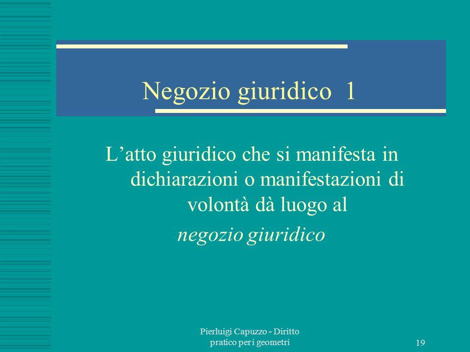 Pierluigi Capuzzo - Diritto pratico per i geometri