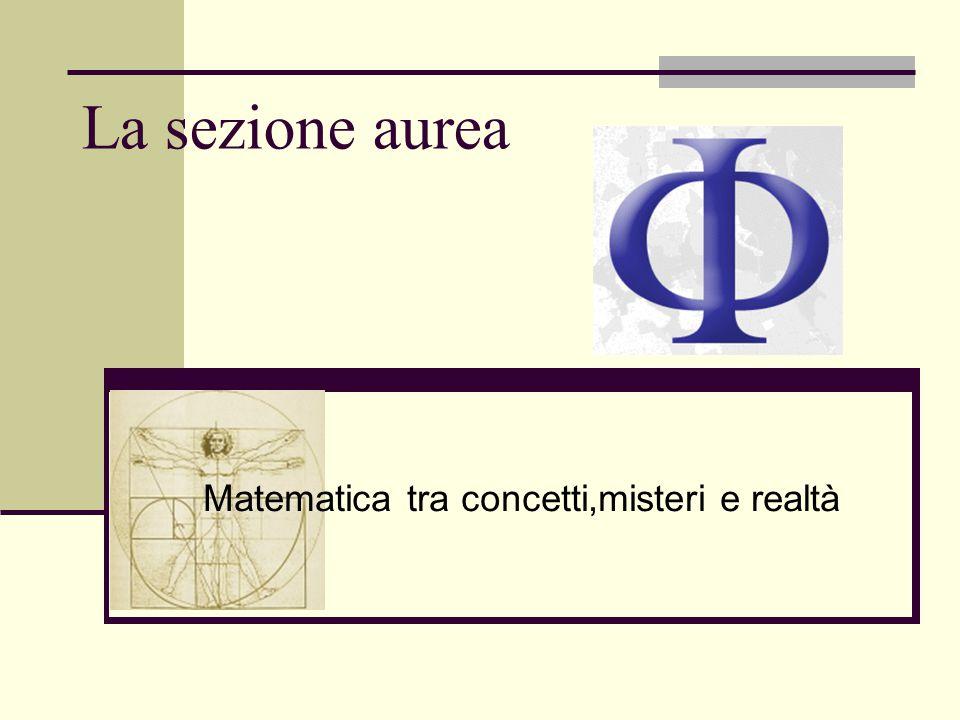 Matematica tra concetti,misteri e realtà