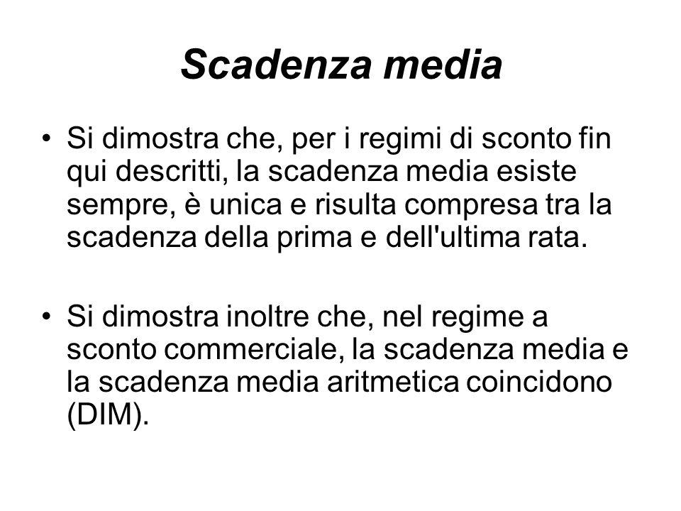 Scadenza media