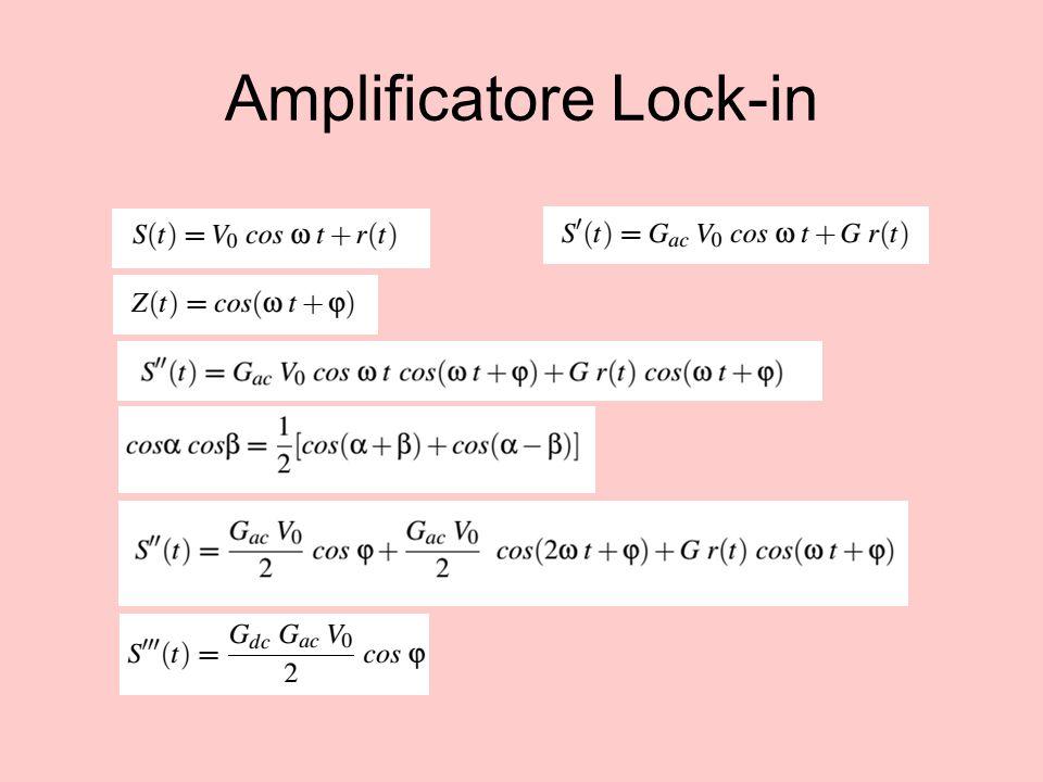 Amplificatore Lock-in