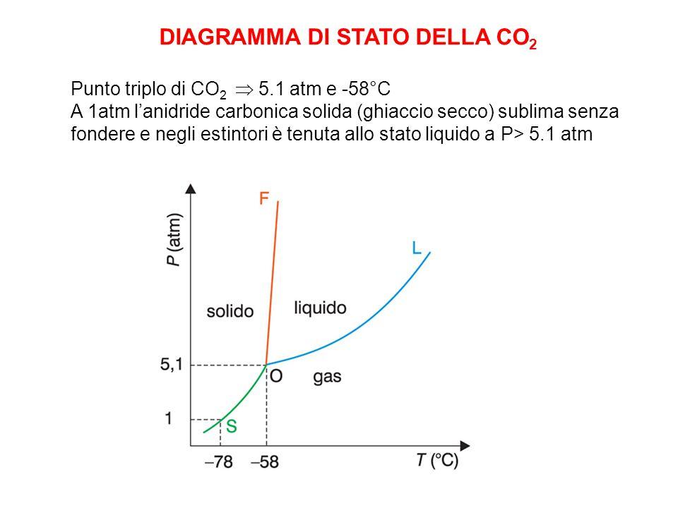 DIAGRAMMA DI STATO DELLA CO2