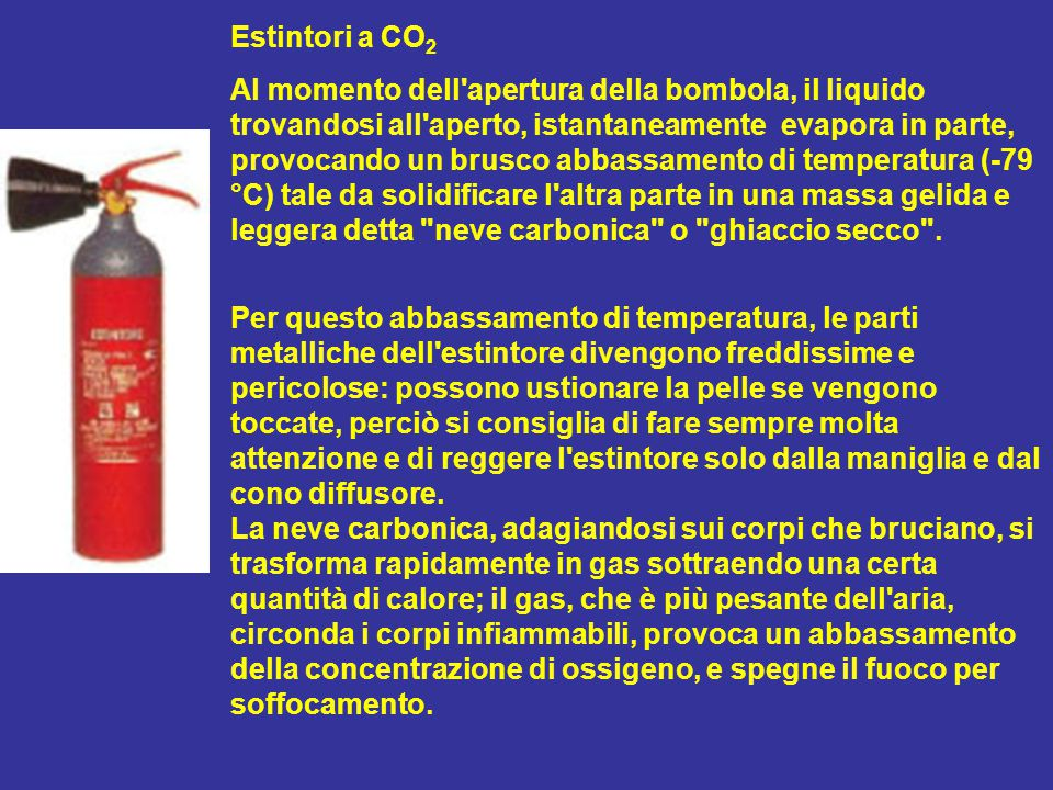 Estintori a CO2