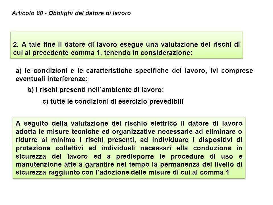 b) i rischi presenti nell'ambiente di lavoro;