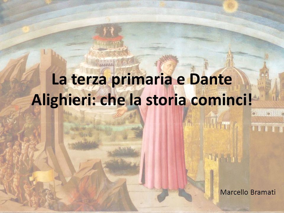 La terza primaria e Dante Alighieri: che la storia cominci!