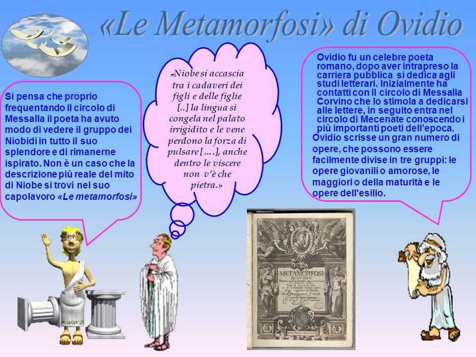 «Le Metamorfosi» di Ovidio