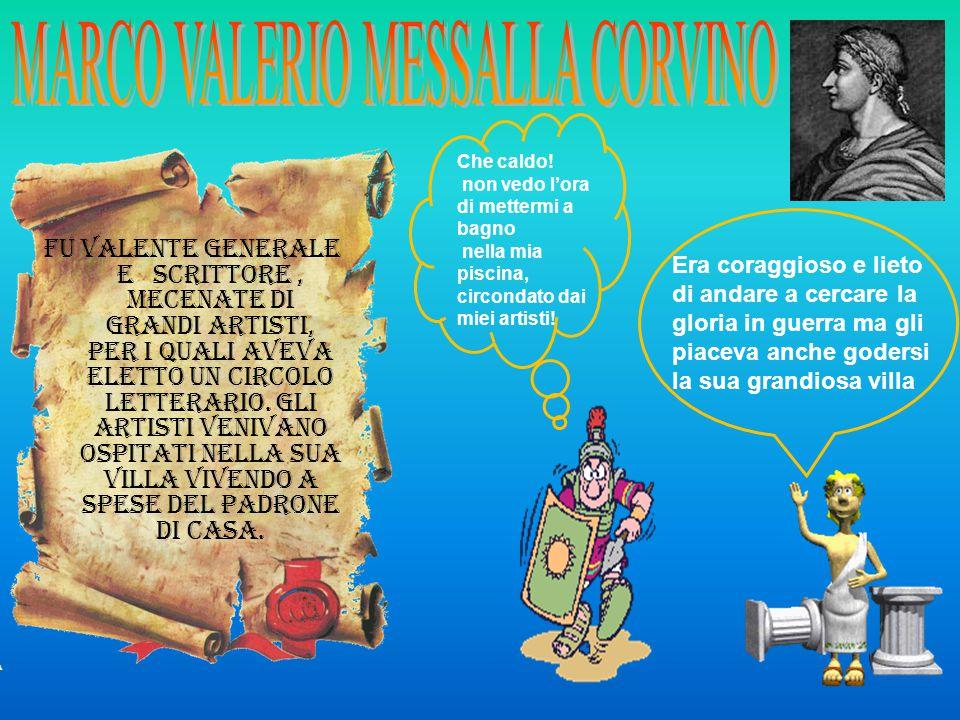 MARCO VALERIO MESSALLA CORVINO