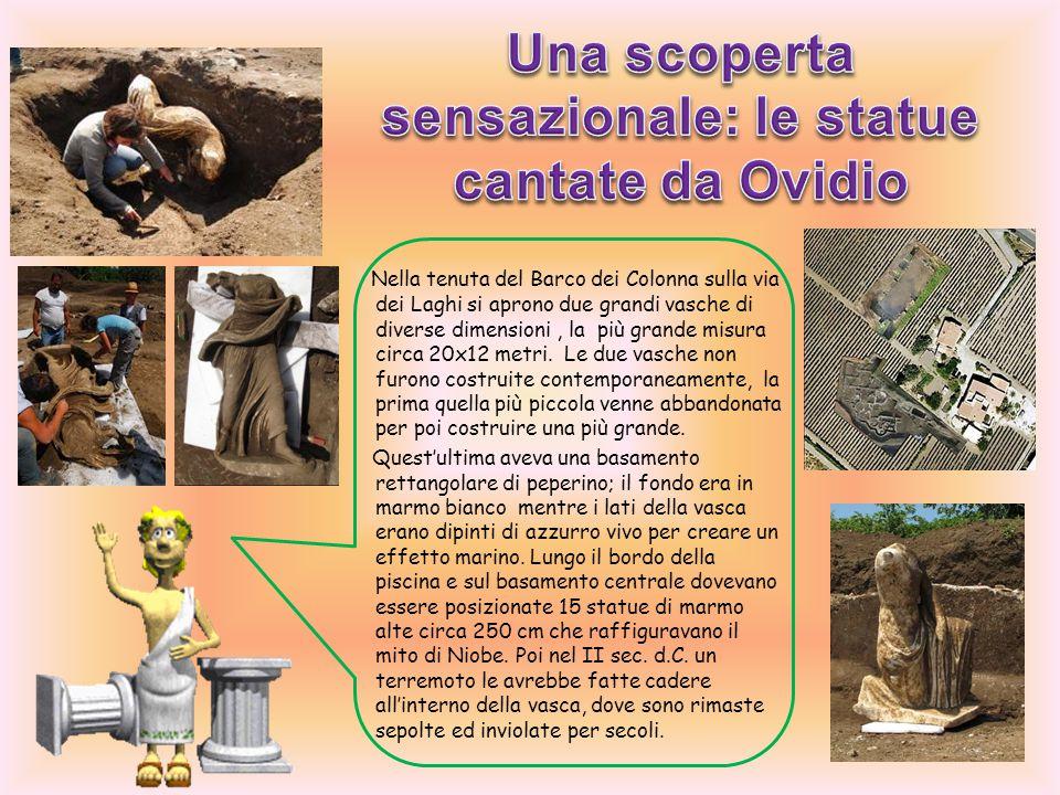Una scoperta sensazionale: le statue cantate da Ovidio