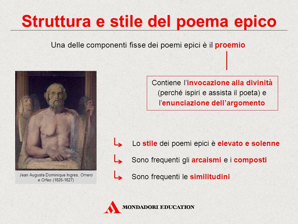 Struttura e stile del poema epico