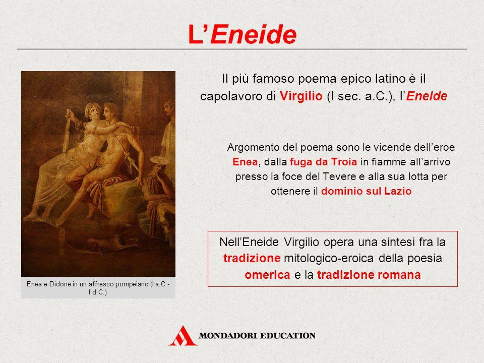 Enea e Didone in un affresco pompeiano (I a.C.-I d.C.)