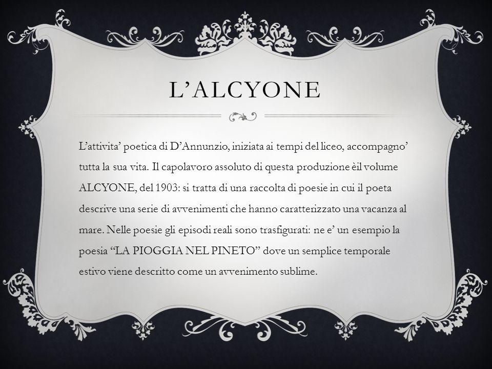 L'ALCYONE