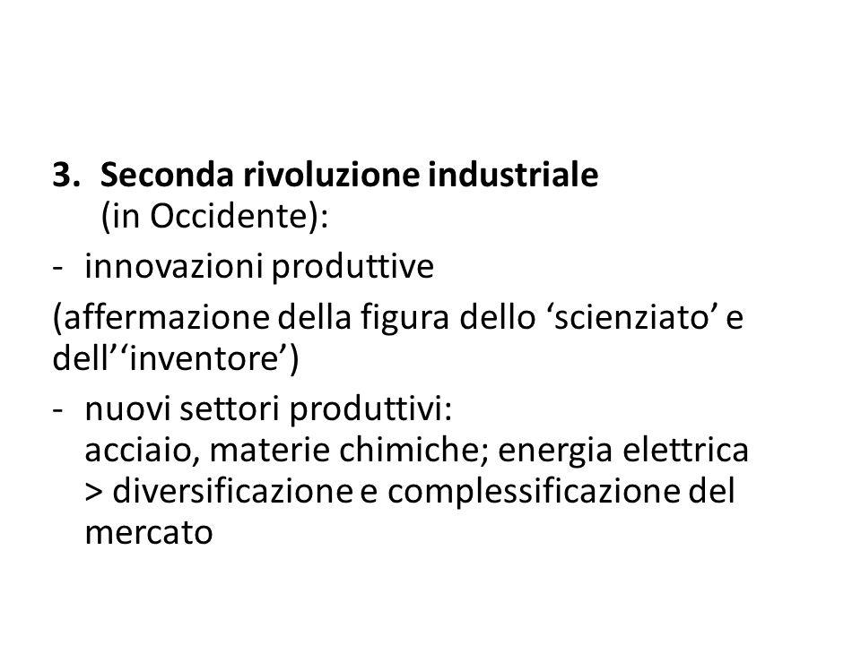 Seconda rivoluzione industriale (in Occidente):