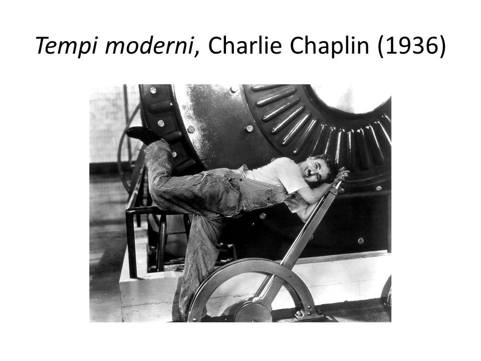 Tempi moderni, Charlie Chaplin (1936)
