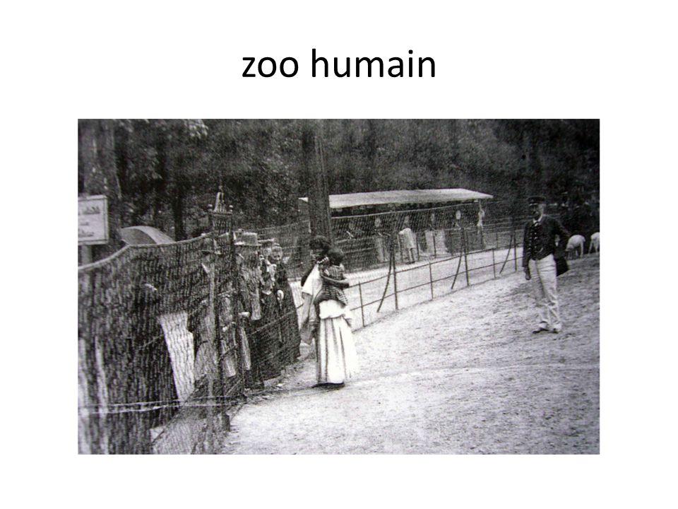 zoo humain