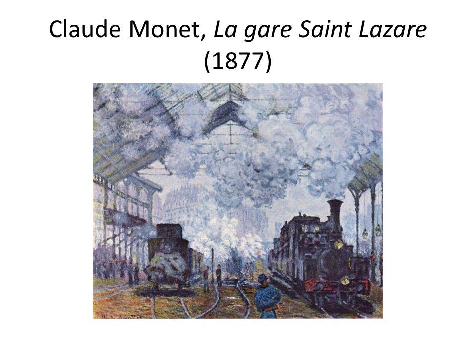 Claude Monet, La gare Saint Lazare (1877)