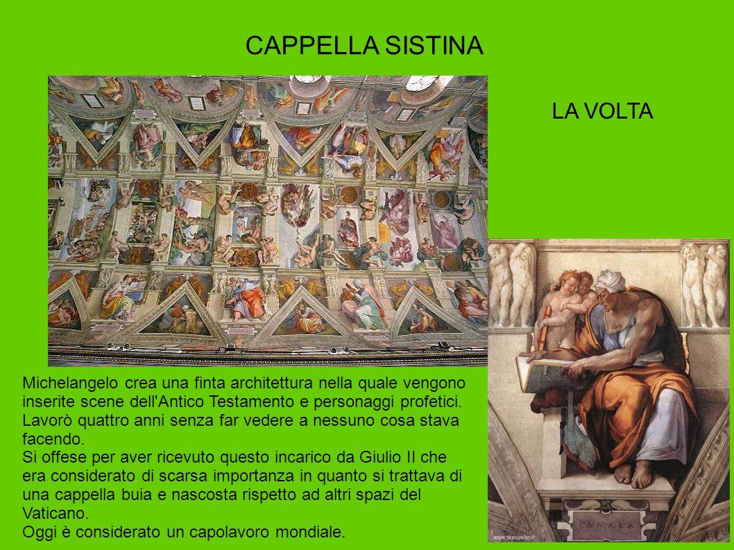 CAPPELLA SISTINA LA VOLTA