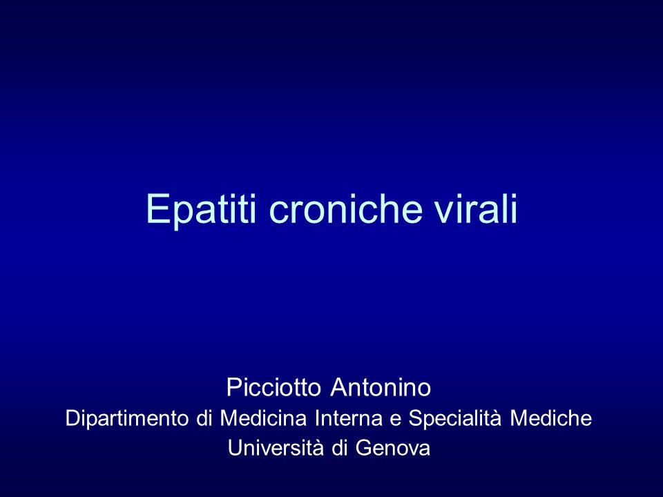 Epatiti croniche virali