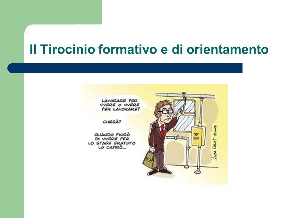 Il Tirocinio formativo e di orientamento