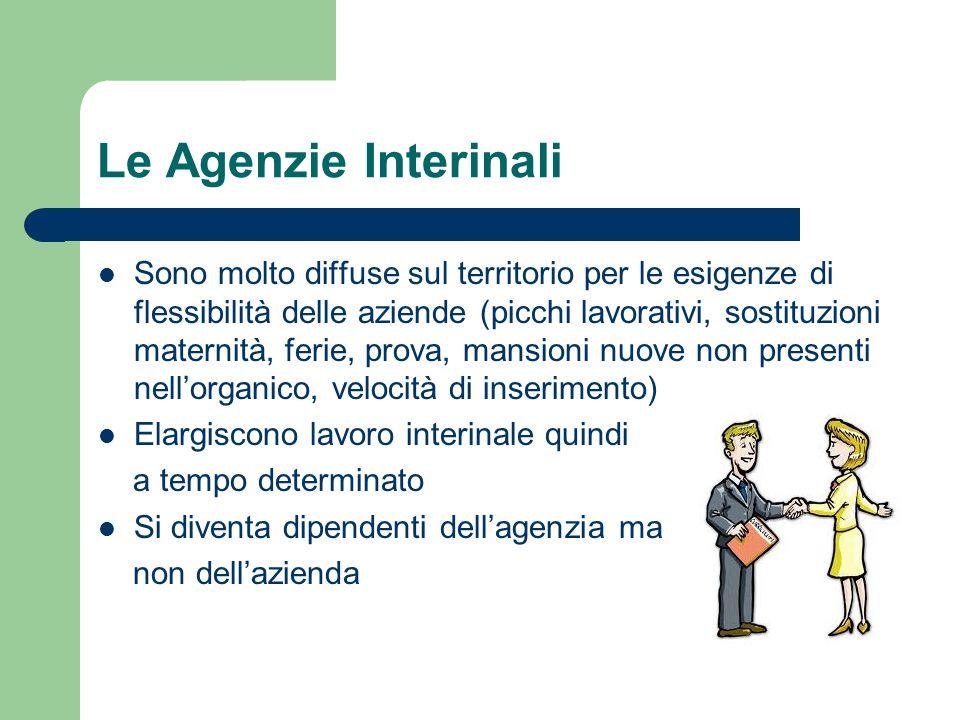 Le Agenzie Interinali