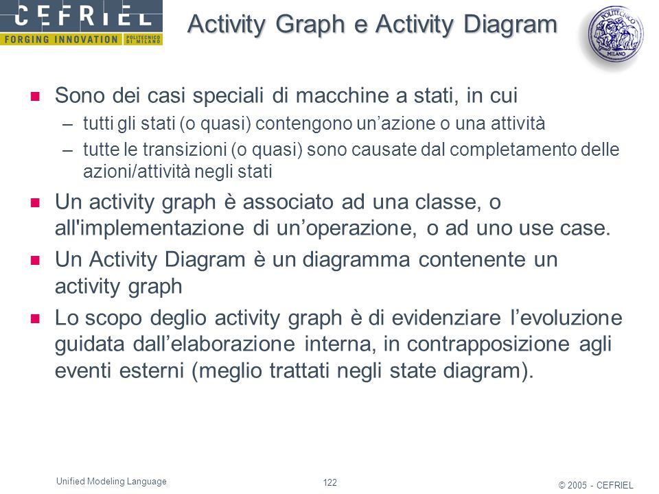 Activity Graph e Activity Diagram