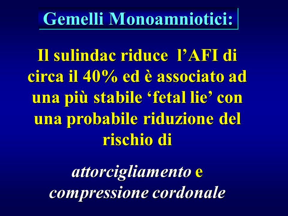 Gemelli Monoamniotici: attorcigliamento e compressione cordonale