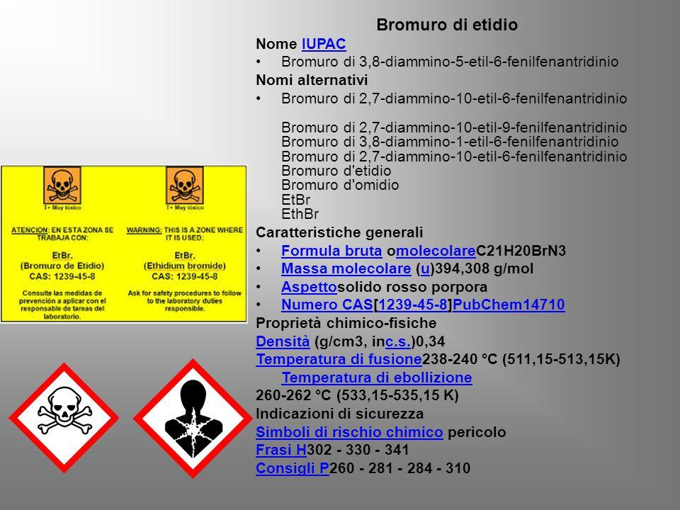 Bromuro di etidio Nome IUPAC