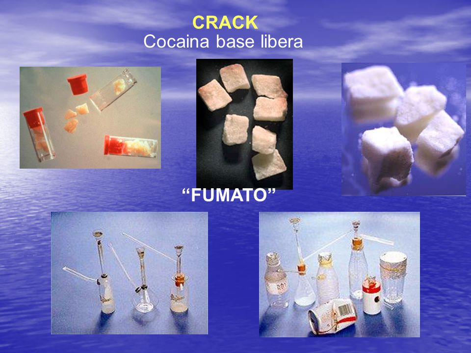 CRACK Cocaina base libera FUMATO