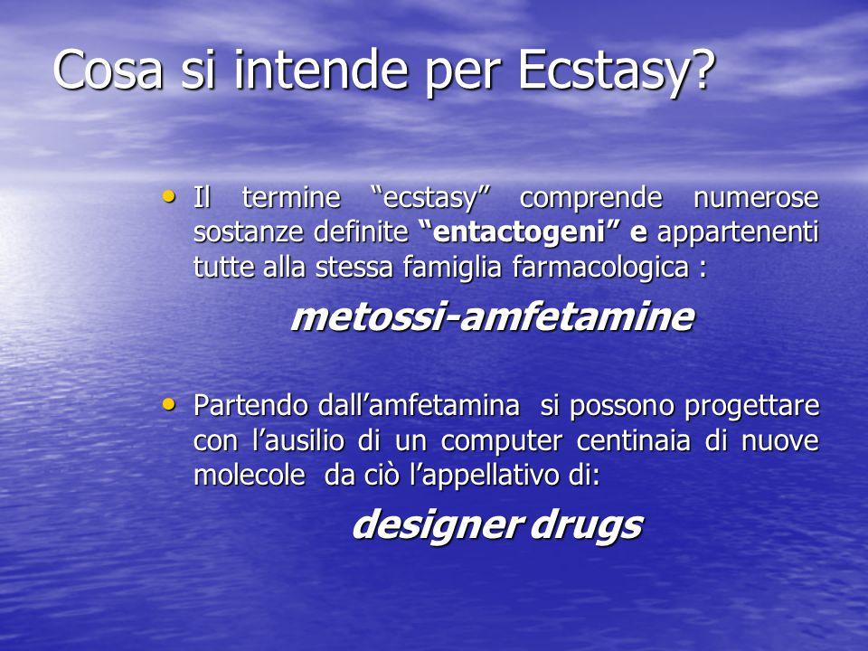 Cosa si intende per Ecstasy