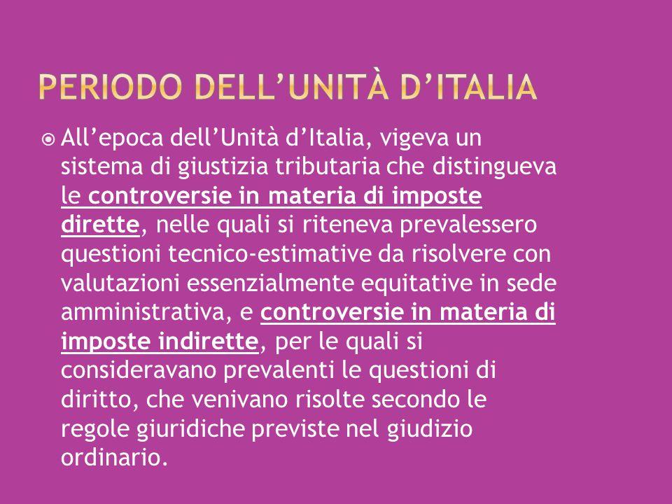 Periodo dell'Unità d'Italia